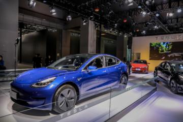中国制造Model 3首次正式亮相