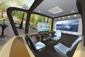 感知乘客 丰田纺织推自动驾驶移动空间