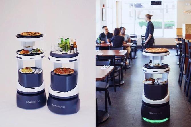 拿到软银领投3200万美元A轮融资,自动送餐机器人公司「Bear Robotics」拓展美国和东亚市场