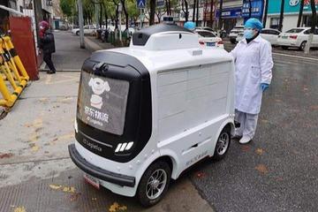 零接触配送:疫情下的无人驾驶