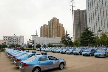 比亚迪首批300辆纯电动出租车交付长沙