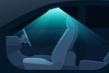 现代将利用紫外线消毒汽车座舱 把车顶灯改造成杀菌工具