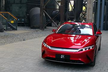 NEDC续航605km 比亚迪汉预售车型配置发布