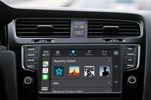 苹果新专利显示未来苹果汽车拥有可隐藏的车载显示屏