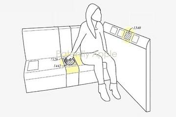 苹果汽车专利:后座用户界面可隐藏 在使用时才会点亮