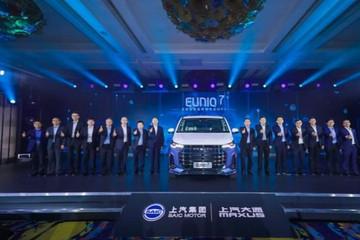 5年10款氢能车 上汽发布业内首个氢战略