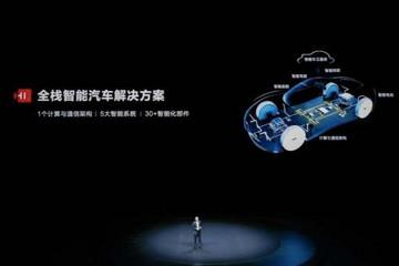 华为发布智能汽车解决方案全新品牌HI 汽车业务近期或进行调整