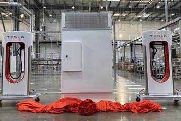 特斯拉国产第三代超充桩下线 最高充电功率达250kW