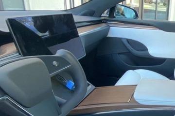 特斯拉新款Model S实车曝光