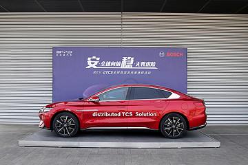 比亚迪汉EV四驱版新增dTCS功能 可降低车轮打滑量