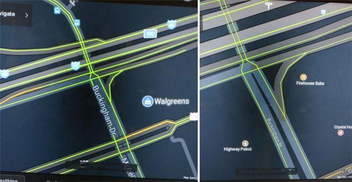 电动汽车,黑科技,前瞻技术,特斯拉地图模块升级,特斯拉新地图模块,特斯拉地图开源模块