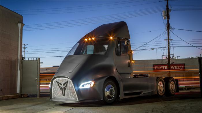 电动汽车,雷神托尔纯电动卡车,纯电动卡车,特斯拉电动卡车