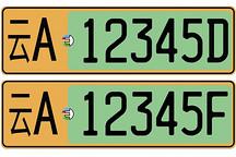 分三阶段,云南省将全面推广应用新能源车专用号牌