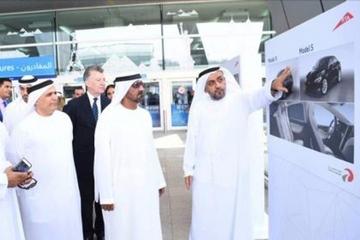 特斯拉自动驾驶车加入迪拜出租车队:首批50辆交付完成