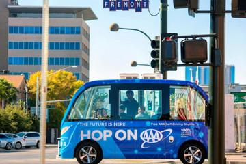 美国运输安全委员会调查拉斯维加斯无人巴士撞车事件