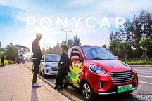 PonyCar获2.5亿C轮融资,分时租赁平台新能源车投放超3000辆