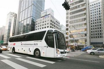 韩国电信获准在公共道路上试驾大型自动驾驶巴士