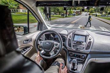 福特自动驾驶汽车发生事故 两人受伤送入医院