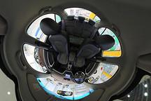 VR试 | 续航升级内饰沿用老款 吉利帝豪EV300全景内饰