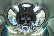 VR试 | 空间表现有惊喜科技配置很意外 江淮iEV6E全景内饰