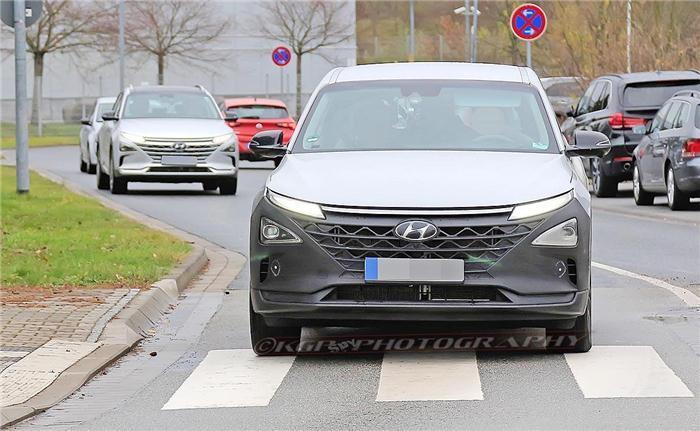 现代燃料电池车,现代跨界车,现代氢燃料电池