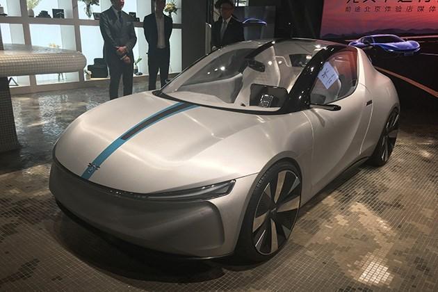 前途K20概念车亮相 未来将推10款车型/北京车展亮相新概念车