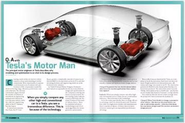 Model 3 为什么放弃特斯拉发明的感应电机
