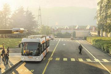 配备无线闪充技术 ABB集团推TOSA电动客车