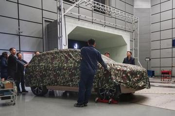 爱驰汽车首款车型完成风洞测试