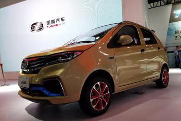 携T100和T700两款新品上市,图新电动汽车品牌于济南展首次亮相发布