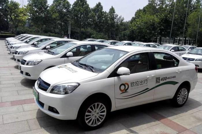 新能源网约车市场群雄逐鹿,怎能少了你?