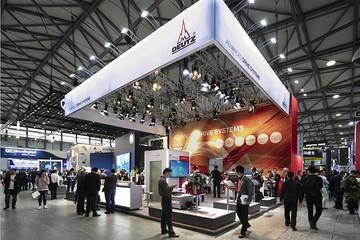 2018中国宝马展上道依茨带来全电动非道路驱动电驱样机