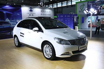 2017未来汽车展:腾势400单刀赴会