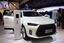 WEY首款插混SUV-P8亮相法兰克福车展 百公里油耗2.3L续航660km