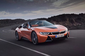 新能源汽车,电动汽车宝马i8Roadster图文资讯 宝马i8Roadster视频集图片