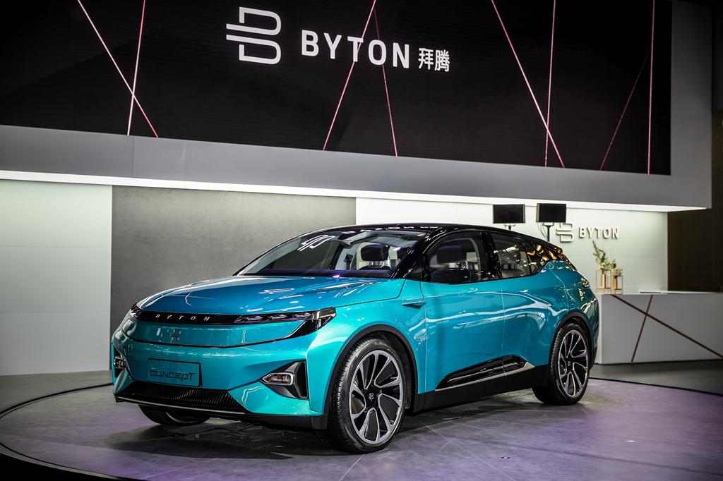 智能互联汽车BYTON Concept亮相2018北京车展