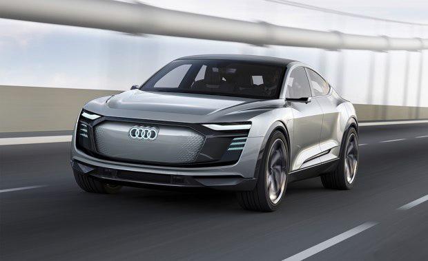 年底量产 奥迪纯电动SUV开启海外预订