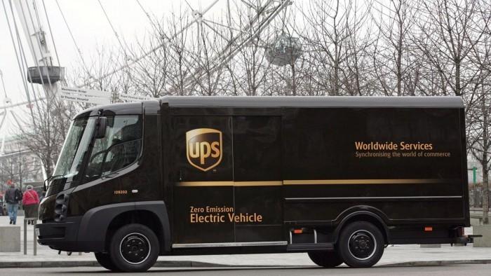 UPS计划部署50辆插电式混合动力送货卡车