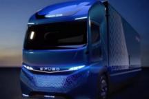 戴姆勒发布全新 E-FUSO Vision ONE 电动卡车,特斯拉要加把劲了