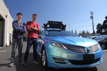 """初创公司Drive.ai发布自动驾驶""""脱离报告"""""""
