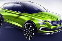 斯柯达Vision X概念电动SUV预定日内瓦车展