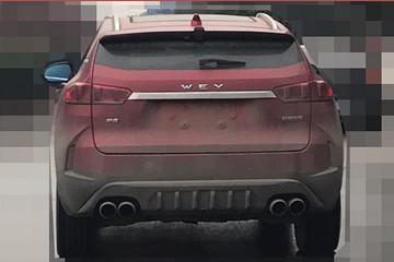 WEY首款混动版SUV路试谍照,综合油耗仅2.3升