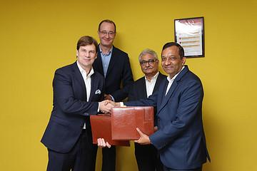 福特与印度马恒达宣布合作,将合力研发新款SUV和电动汽车