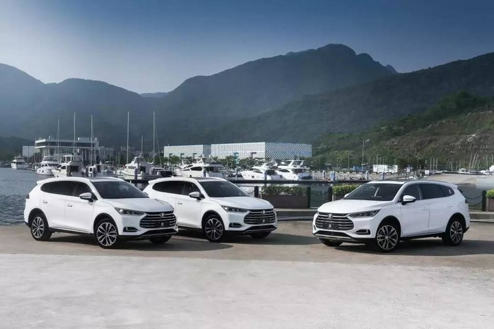 一次性四个车型,比亚迪秦Pro、全新一代唐系列均入围国六排放