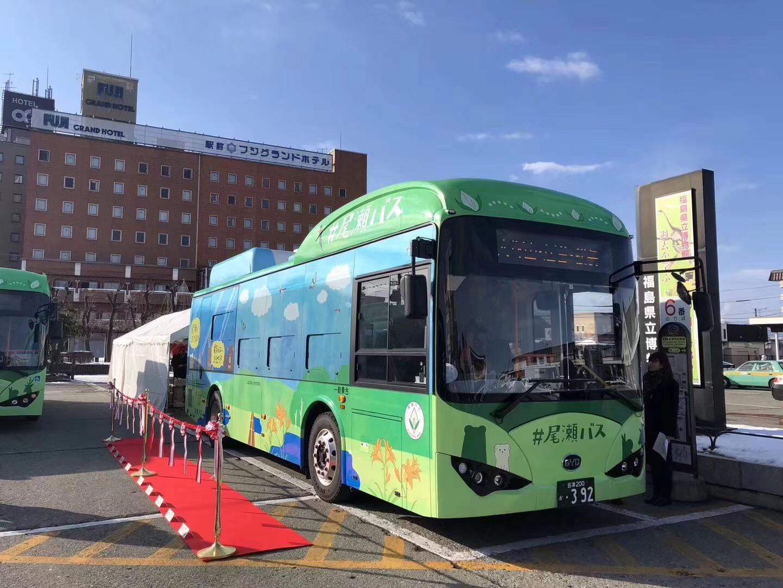 日本福岛比亚迪纯电动大巴正式交付,国内有些网友却不高兴了