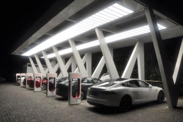 特斯拉充电站数量今年增63%仍不及预期
