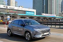 现代测试全球首款自动驾驶燃料电池车 测试速度达110km/h
