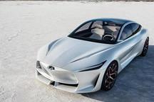 英菲尼迪全新概念车官图发布 或将搭混动系统