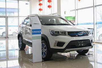 实拍奇瑞瑞虎3xe 小型纯电SUV市场的强有力竞争者