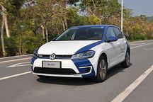 试驾进口大众全新e-Golf 一台高品质的德国纯电动汽车